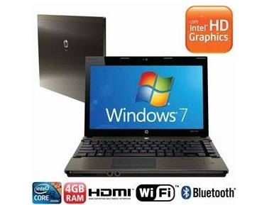 notebook probook hp 4320s intel core i3 4gb 320gb  outlet