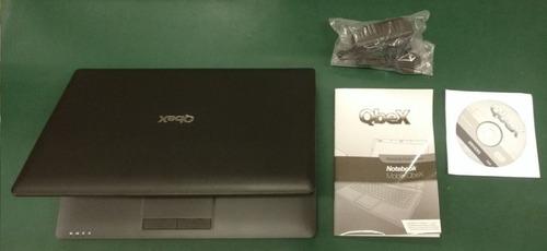 notebook qbex intel 320gb 14  só funciona no carregador