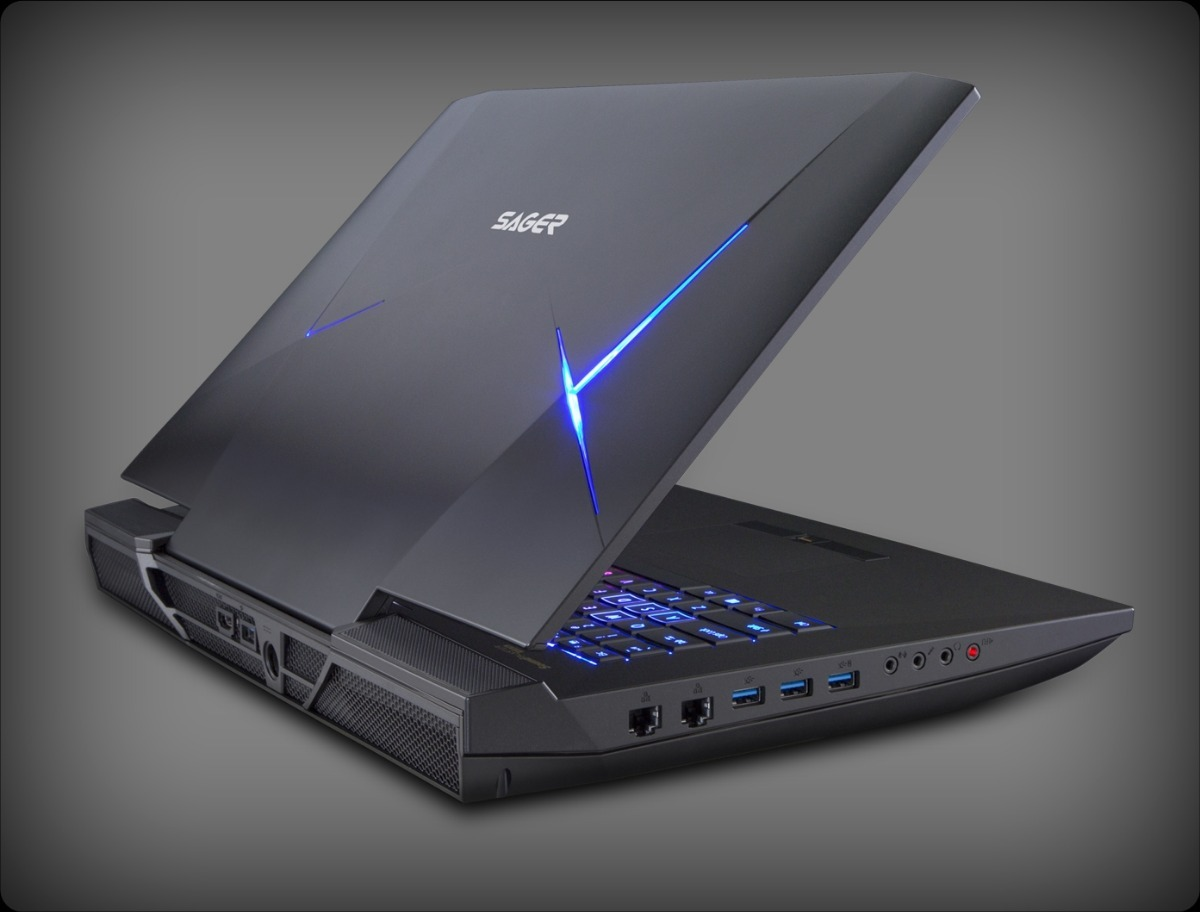 Notebook Sager Np9876 - Intel Core I7-7700k