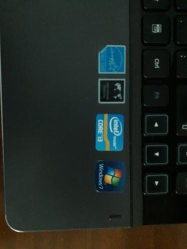 notebook samsung 300e core i3 4gb 500 gb hd + mouse frete gr