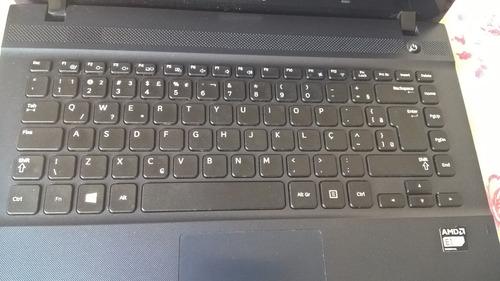 notebook samsung  - amd-e1-1500 radeon 4gb 500hd-leia