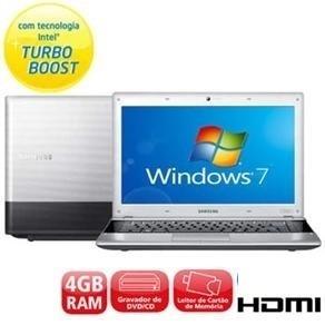 notebook samsung core i3  hd 500gb/ memoria 4gb hdmi