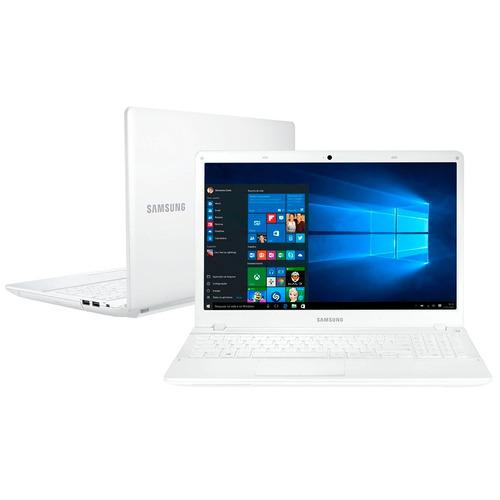 notebook samsung essentials np370e4k-kwbbr branco   novo