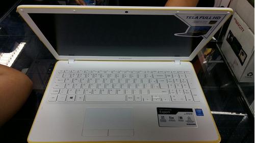 notebook samsung expert i5 4gb 1tera np300e5k kfwbr novo