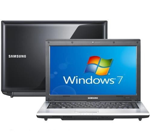notebook samsung np-rv410 dual core 4gb 500gb windows 14