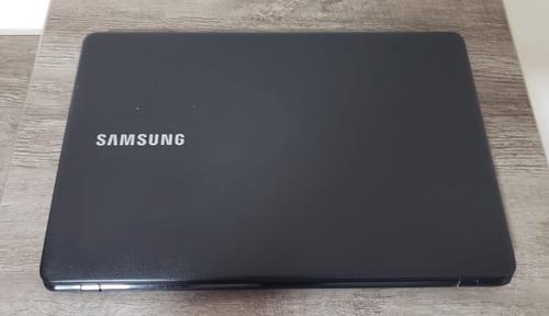 notebook samsung np300e5 intel dual core 4gb 500gb semi novo