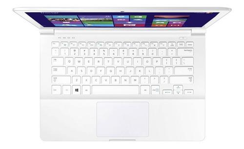 notebook samsung quad-core 4gb 120gb ssd touchscreen 13,3''