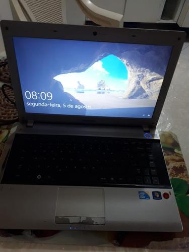 notebook samsung rv411 2.53 ghz 4gb ram 500gb novíssimo