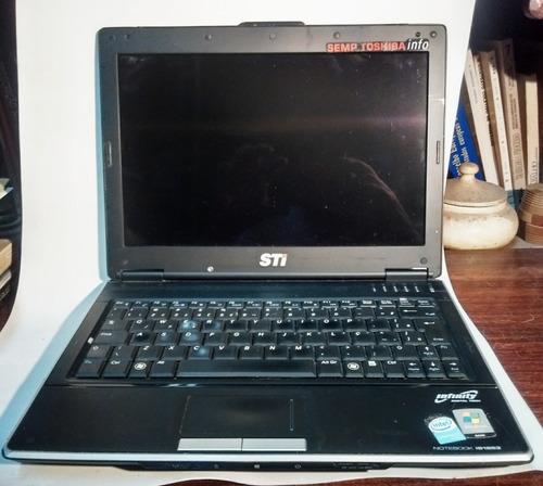 notebook semp toshiba  sti is1253