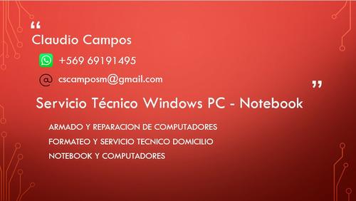 notebook serv tecnic