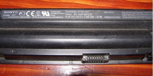 notebook sony vaio pcg-61611u en desarme