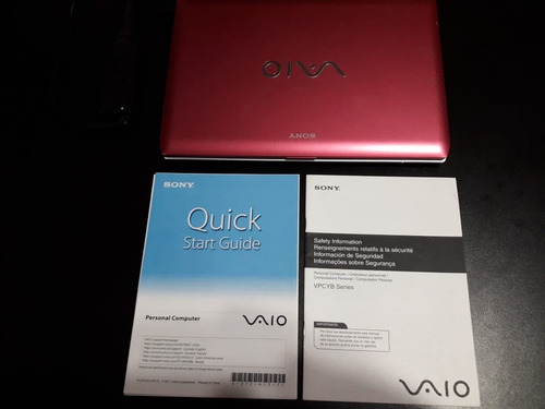 notebook sony vaio rosa pcg 31311l amd e-350 hd500 gb 1.6hz