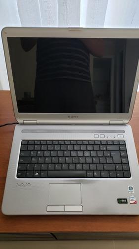 notebook sony vaio vgn-nr250ae