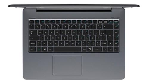 notebook stilo xc5631 pentium windows 10 home 14'' - cinza