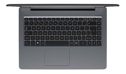 notebook stilo xc8660 core i5 windows 10 home 14'' - cinza