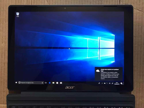 notebook tablet acer switch 12 i5 8gb 256ssd touch r$ 2,700