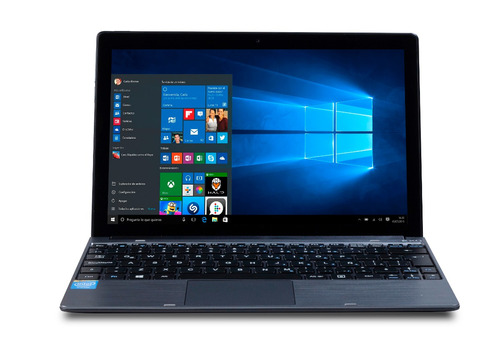 notebook + tablet pc 2 en1 exo quadcore 2gb 32gb win10 hdmi