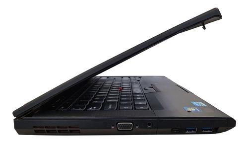 notebook thinkpa lenovo t430 4gb 500gb core i5 3ª seminovo!