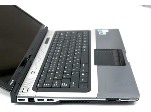 notebook usado gateway core 2.0ghz hd500 4gb + brinde