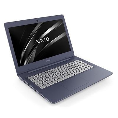 notebook vaio c14 i5 8gb 1tb 14  w10 pro azul e prata