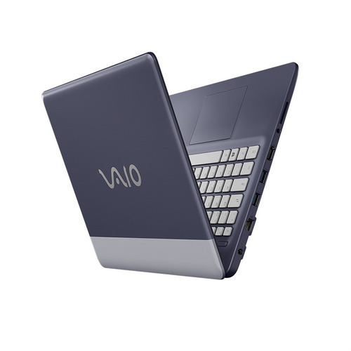 notebook vaio c14 i7 8gb1tb 14  w10 home prata