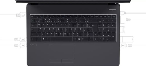 notebook vaio fit 15s - i5 - 8º geracao 1tb ddr4 8gb