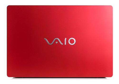 notebook vaio fit15s i5 8gb1tb 15.6 w10 home vermelho