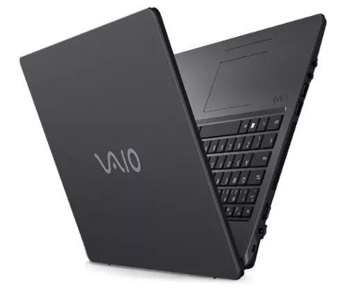 notebook vaio i7-7500u (7geração) ssd 240gb 16gb 15,6 led