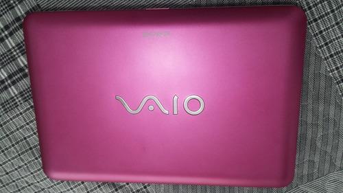 notebook vaio sony rosa