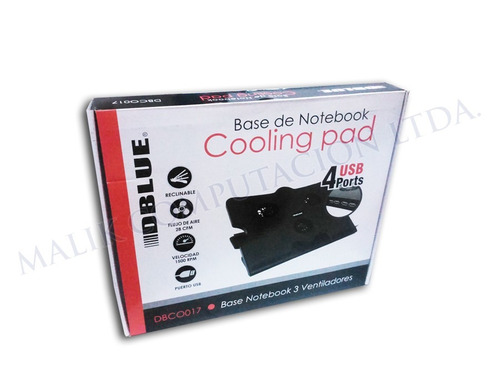 notebook ventilador base