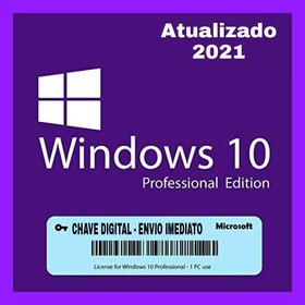 Notebook Windows 10 Pro Ativação