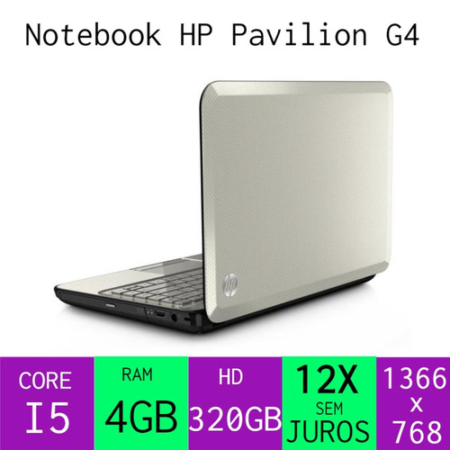 notebookcore i5, ram 4gb, hd 320gb + mouse brinde