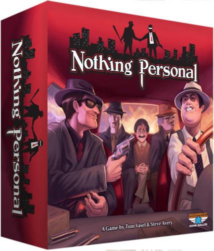 nothing personal - jogo de tabuleiro imp. dice tower games