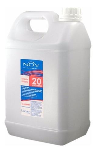 nov emulsión oxidante 20 volumenes bidon 4800 ml