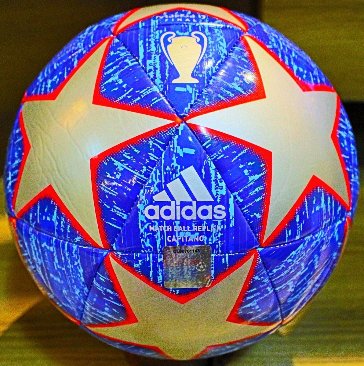 e1320d1865abb nova bola adidas 2019 capitano finale madrid prata e azul. Carregando zoom.