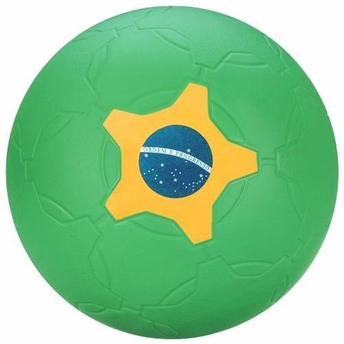 19e74b33534cb Nova Bola De Futebol Nerf Sports Verde Hasbro A8279 - R  69