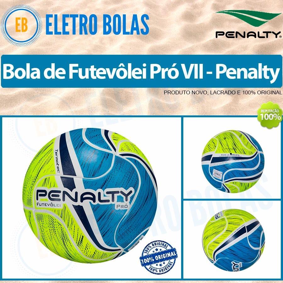 1947e546ae nova bola futevôlei pró vii profissional penalty - original. Carregando  zoom.