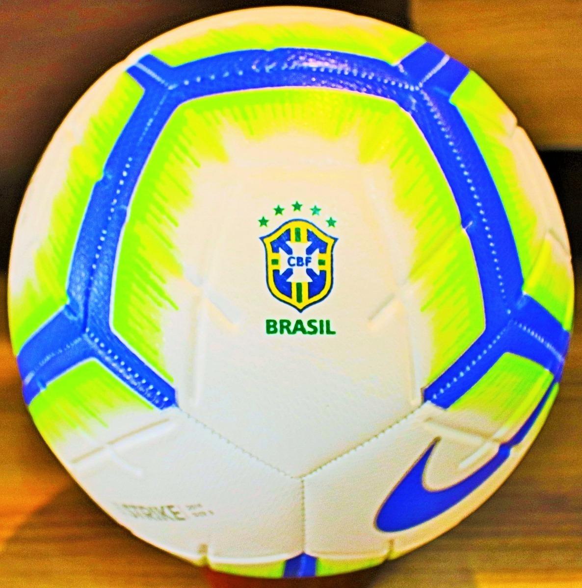d7f8f7ba4 Nova Bola Nike Brasileirão 2019 Tamanho Oficial De Jogo - R  119