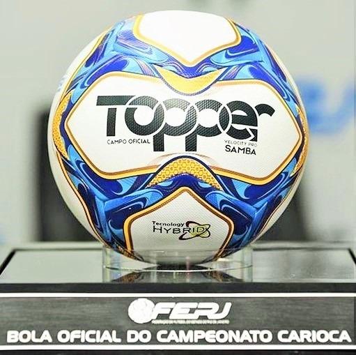 06eab19ff4 Nova Bola Topper Samba Velocity Pro Carioca 2019 - R  229