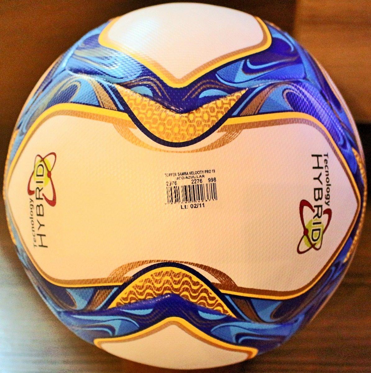 e843300184 nova bola topper samba velocity pro carioca 2019. Carregando zoom.