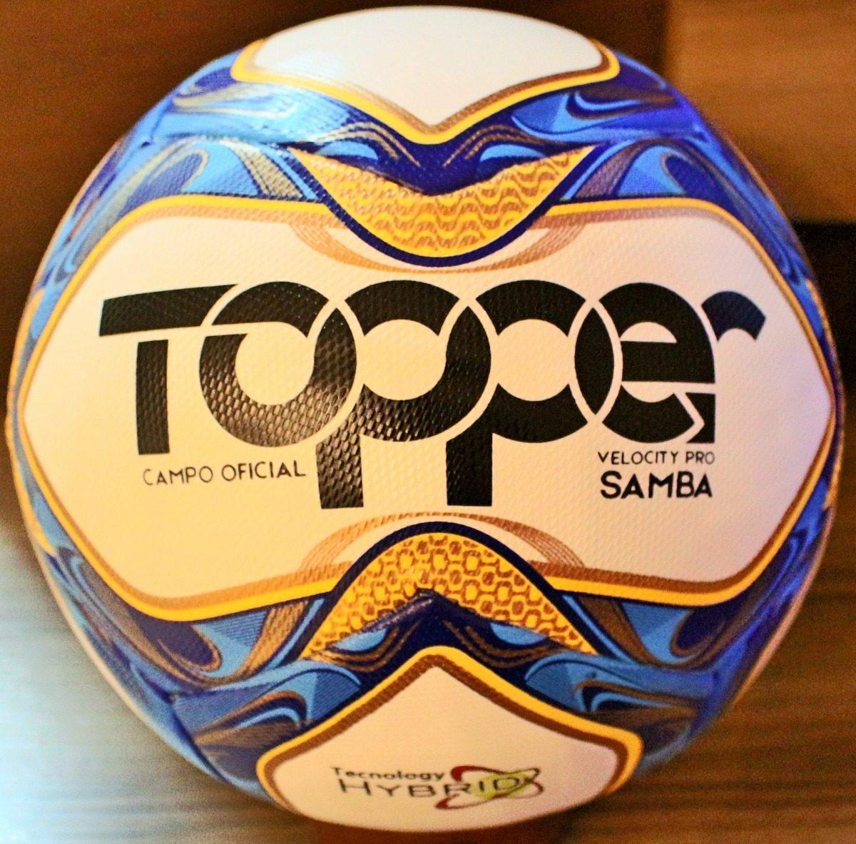 094aa217b76af nova bola topper samba velocity pro carioca 2019. Carregando zoom.