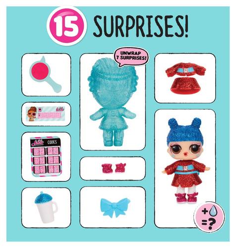 nova boneca lol surpresa under wraps original candide