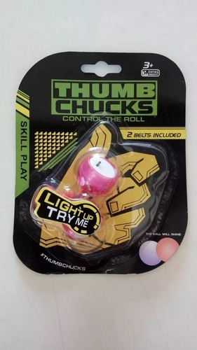 nova brinquedo thumb chucks led febre do momento promoção!!!