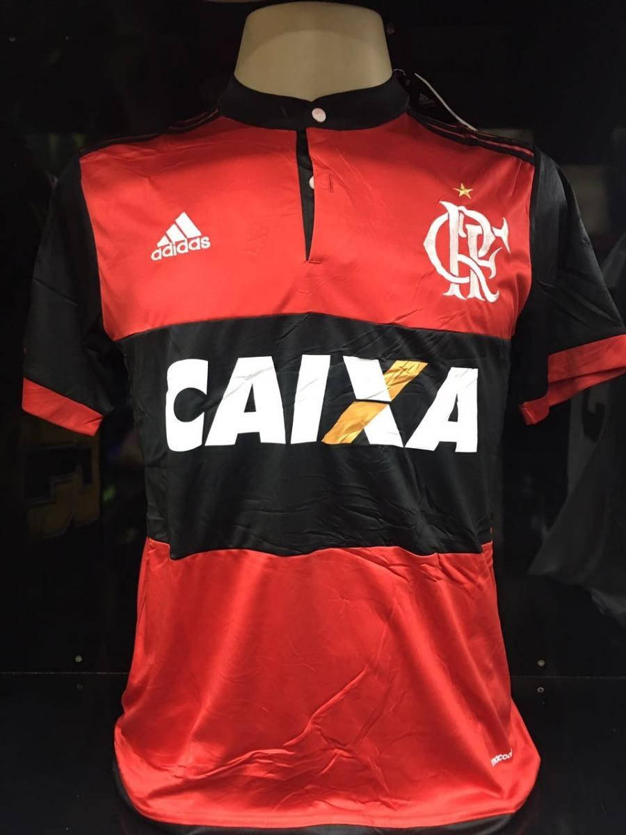 nova camisa adidas flamengo 2018 original oficial climacool. Carregando  zoom. 947315bac440d