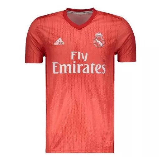 5a60804a478ee Nova Camisa adidas Real Madrid 2018 19 Home Vermelha - R  187