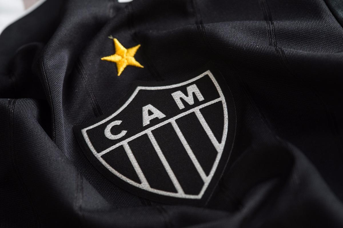 9e7ad9f397 nova camisa atlético mg 2018 sócio torcedor all black. Carregando zoom.