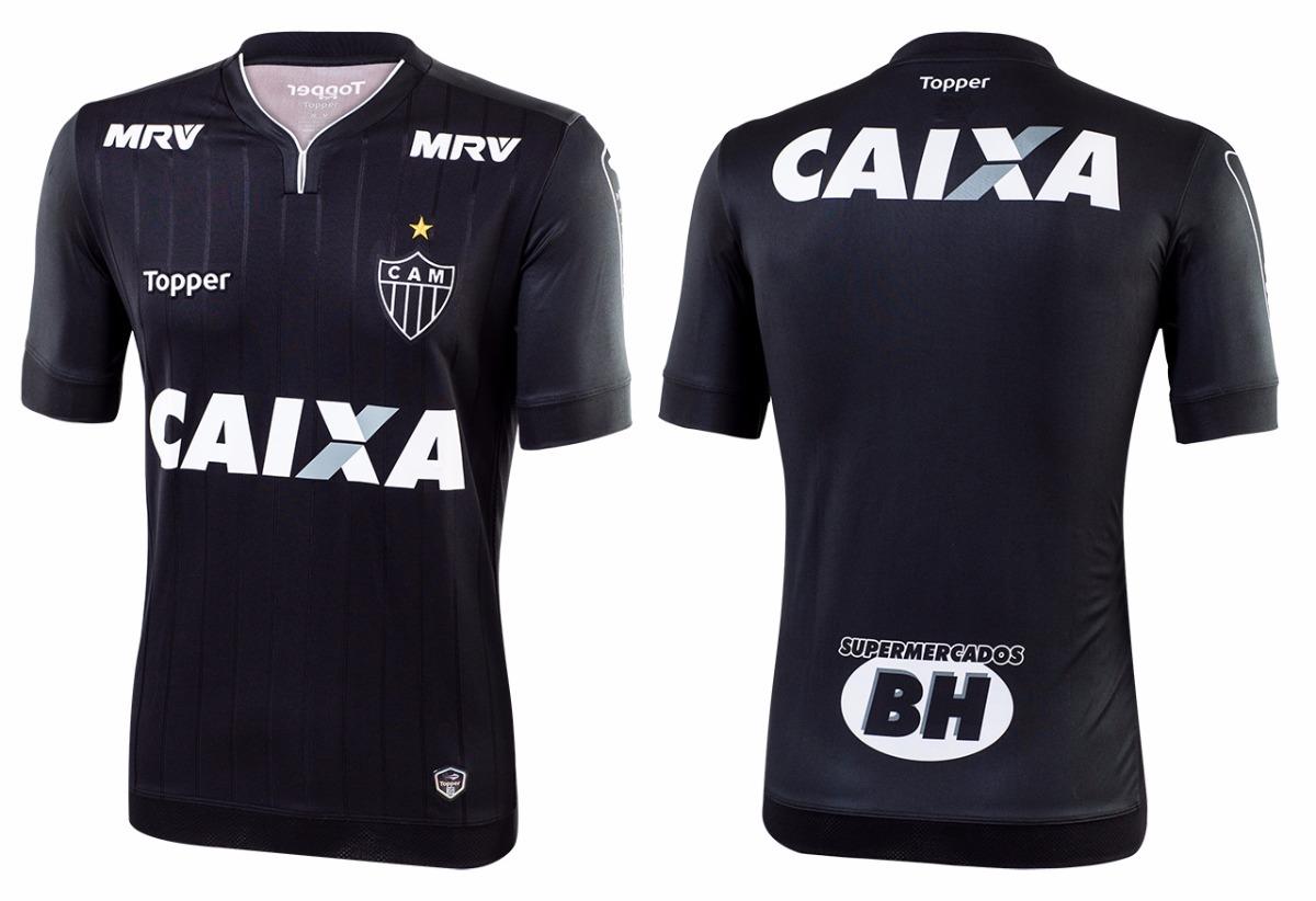 nova camisa atlético mg 2018 sócio torcedor all black. Carregando zoom. 631f640ad99d0