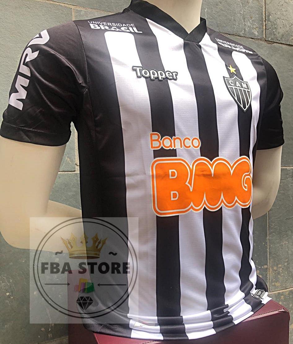 bbca88021 Nova camisa atletico galo personalize nome carregando zoom jpg 946x1110  Mercado livre camisa atletico mineiro