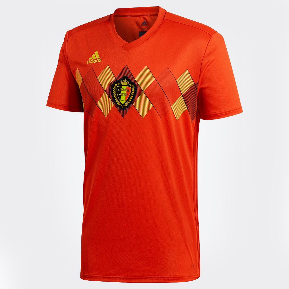 Resultado de imagem para Camisa da Bélgica para a Copa do Mundo de 2018 384208710267c