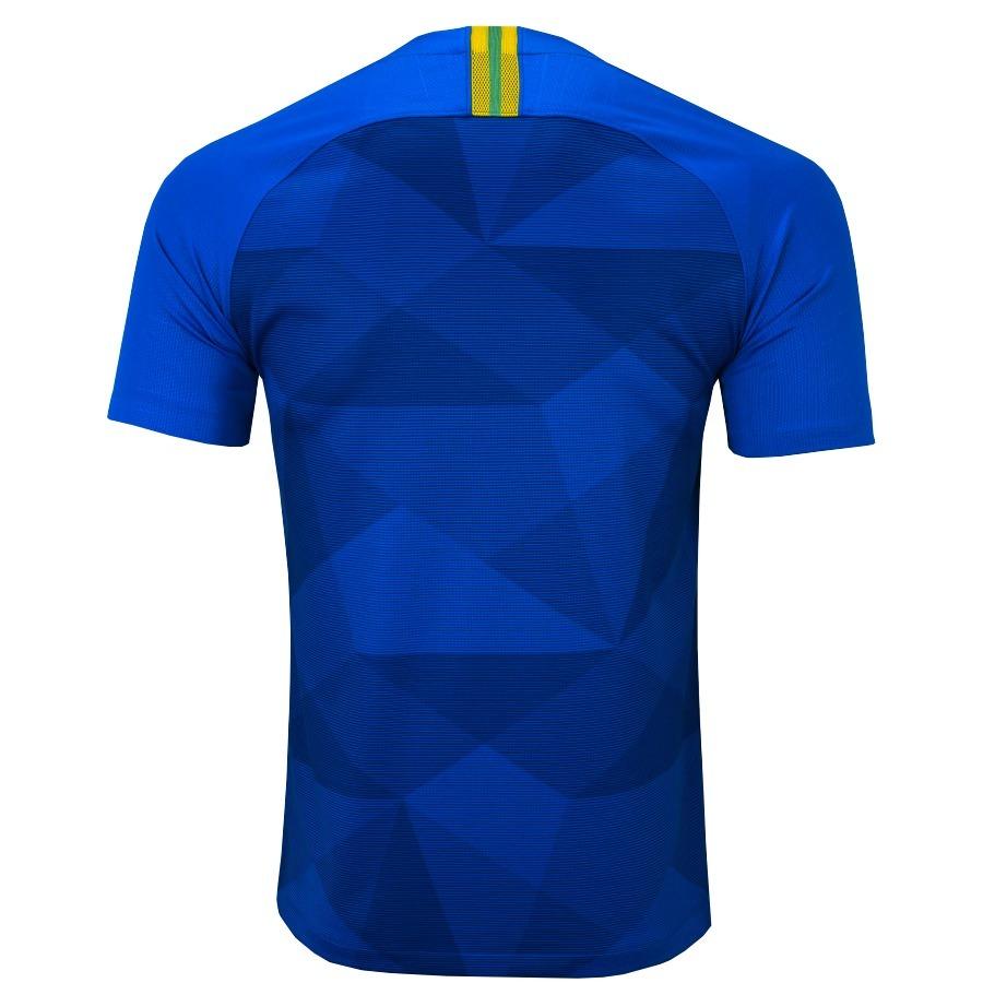 Nova Camisa Blusa Futebol Seleção Brasileira Sem Numero Copa - R  89 ... 30e9d318c17c6